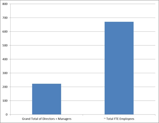 Manager to Staff Ratio